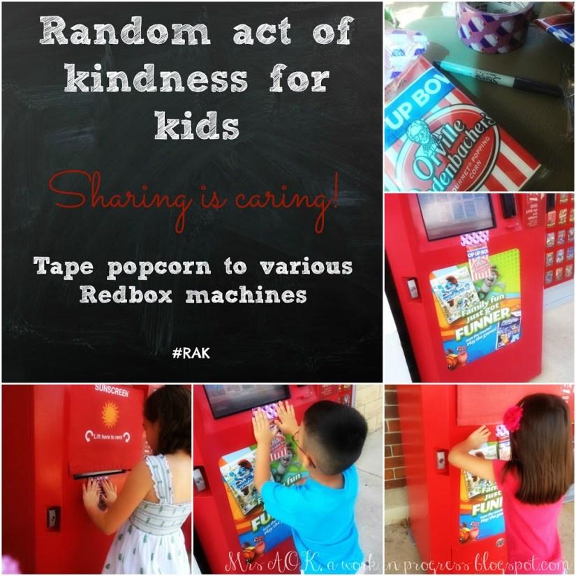 Random Act of Kindness #RAOK #Redbox