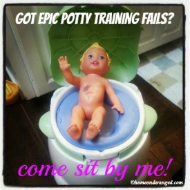 Potty training fails