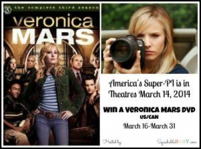 Veronica Mars Movie is now in theatres #giveaway Enter for your chance to win #veronicamarsmovie on DVD ETA May 2014