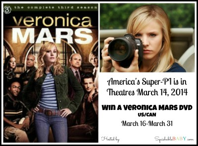 Veronica Mars Movie is now in theatres #giveaway Enter for your chance to #win #veronicamarsmovie on DVD ETA May 2014