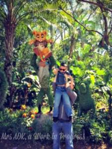 Mrs. AOK, A Work In Progress: Circle of Life Epcot Disney World