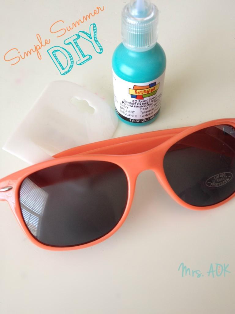 Super Simple Sunglasses| DIY | Kids Crafts| Mrs. AOK, A Work in Progress