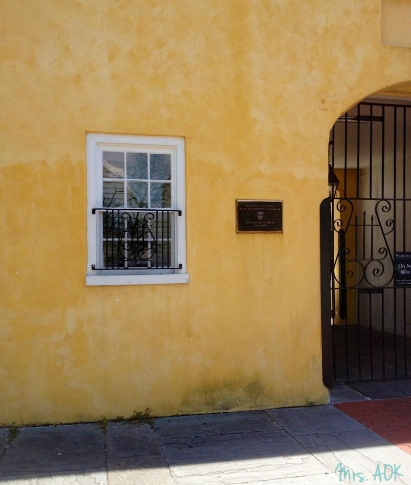 Charleston yellow
