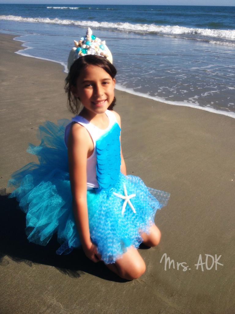 Mermaid at the Beach 2