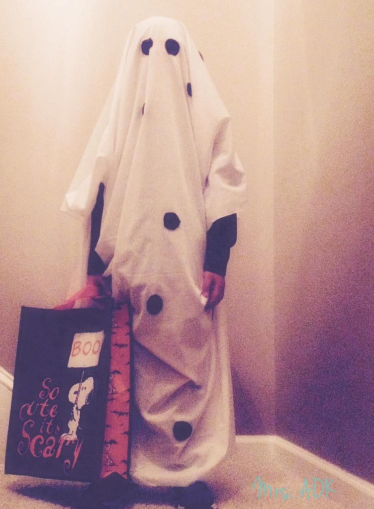 Charlie Brown Ghost Halloween