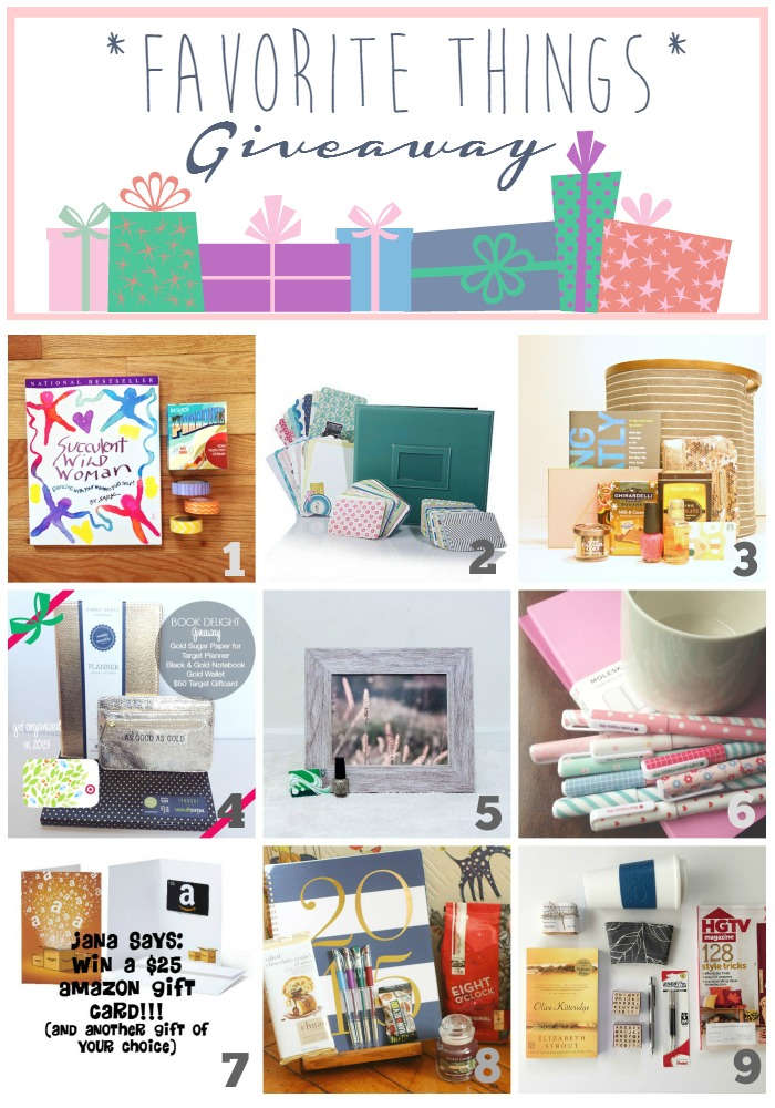 Favorite Things Blog Hop Giveaway!! 9 Bloggers, 9 giveaways| Giveaway|