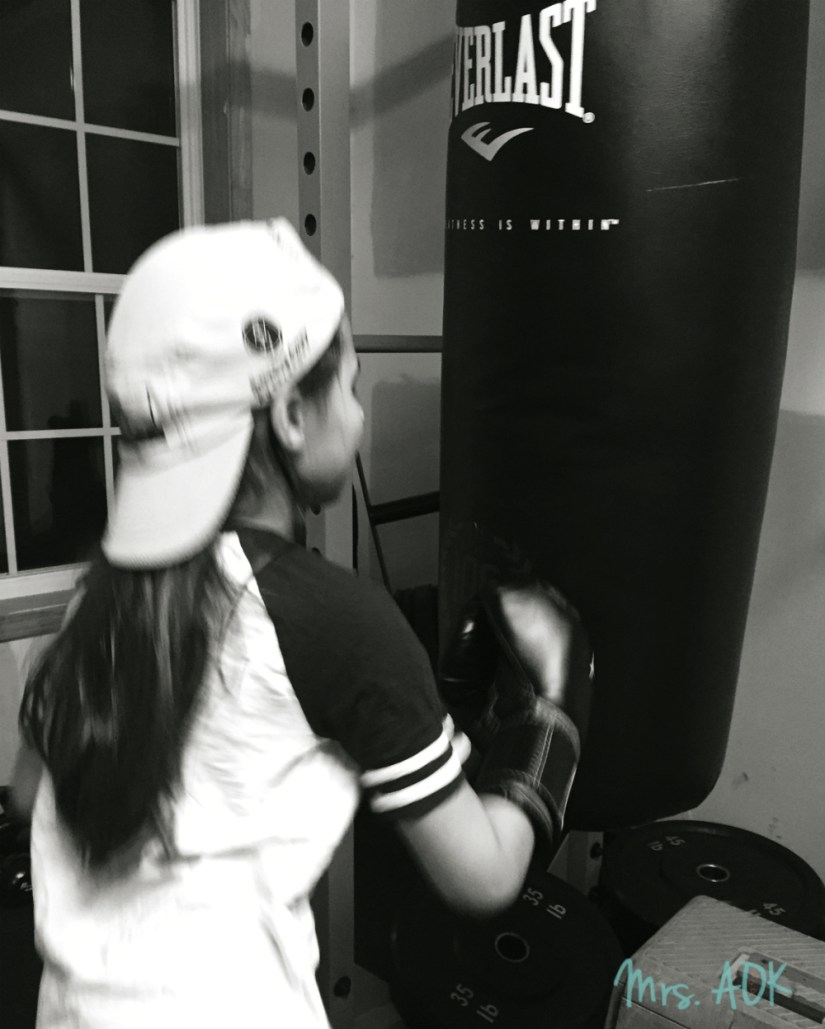 Baby Girl Boxing
