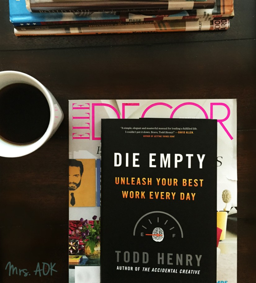 Currently Reading: Die Empty