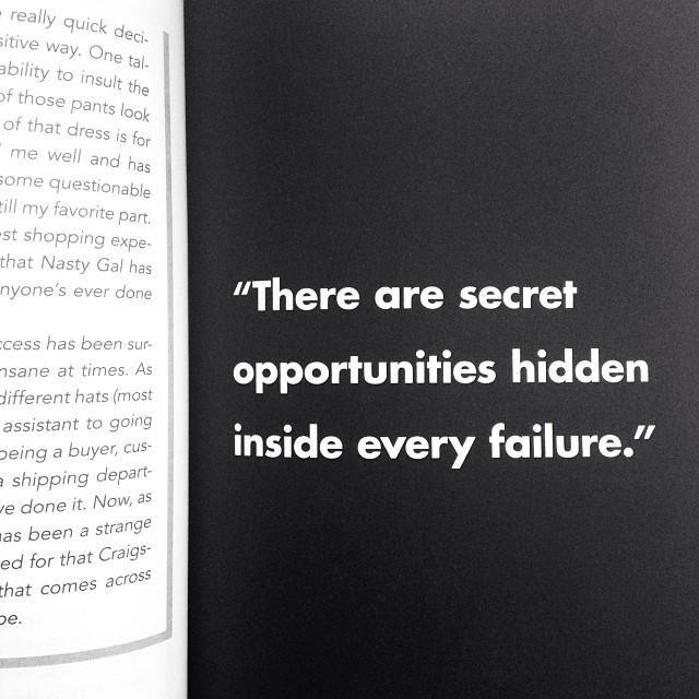#GIRLBOSS: There are secret opportunities hidden inside every failure