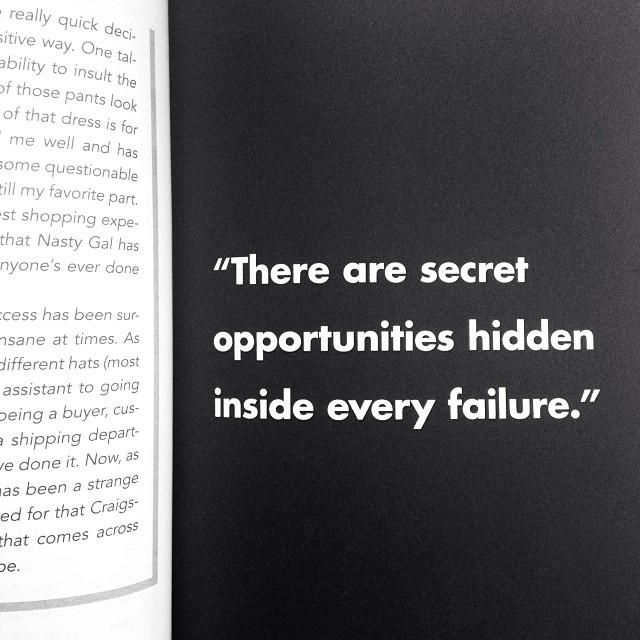 #GIRLBOSS: There are secret opportunities hidden inside every failure