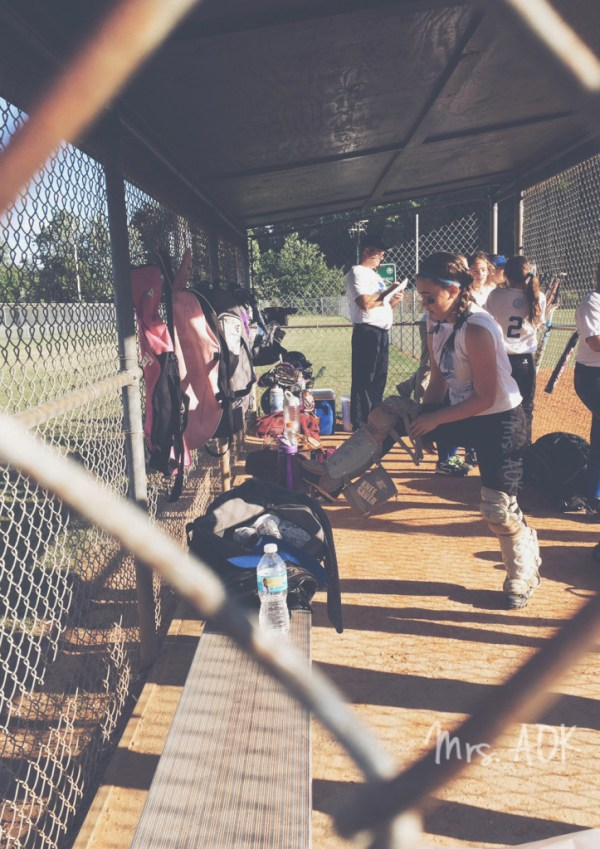 The Catcher Gearing Up| Softball