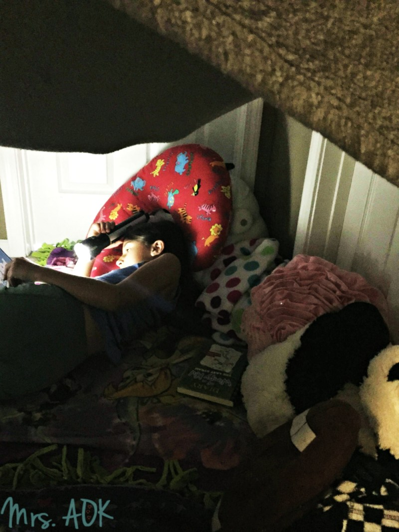 Reading in the blanked fort