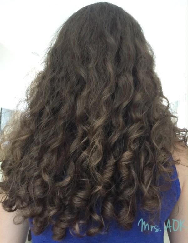 Mini Me's Curly Hair