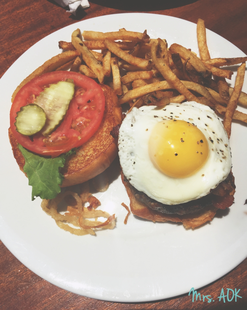 Tell-Tale Heart Burger