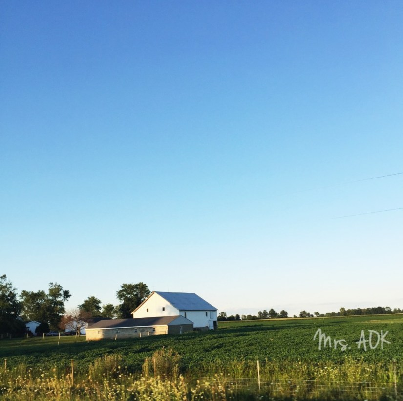 Indiana Farm House|Across The Country With Three Kids, a Dog, and Our Sanity| Mrs. AOK, A Work In Progress