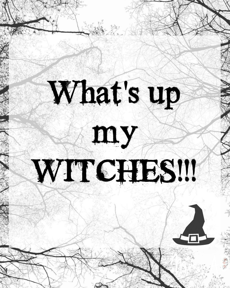 What's up my witches| Halloween Tag| Mrs. AOK, A Work In Progress