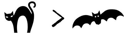 Cat > Bat| Halloween Tag| Mrs. AOK, A Work In Progress
