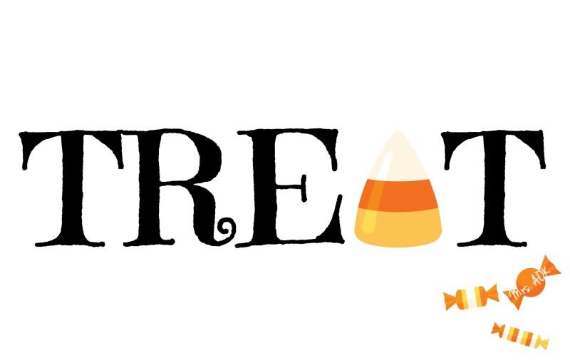 Treat| Halloween Tag| Mrs. AOK, A Work In Progress