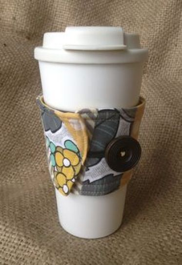 Amaia Papaya Shop coffee sleeve| Gift Guide for Coffee Lovers| Mrs. AOK, A Work In Progress