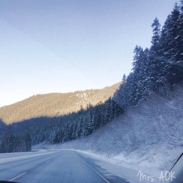Drive to Leavenworth WA