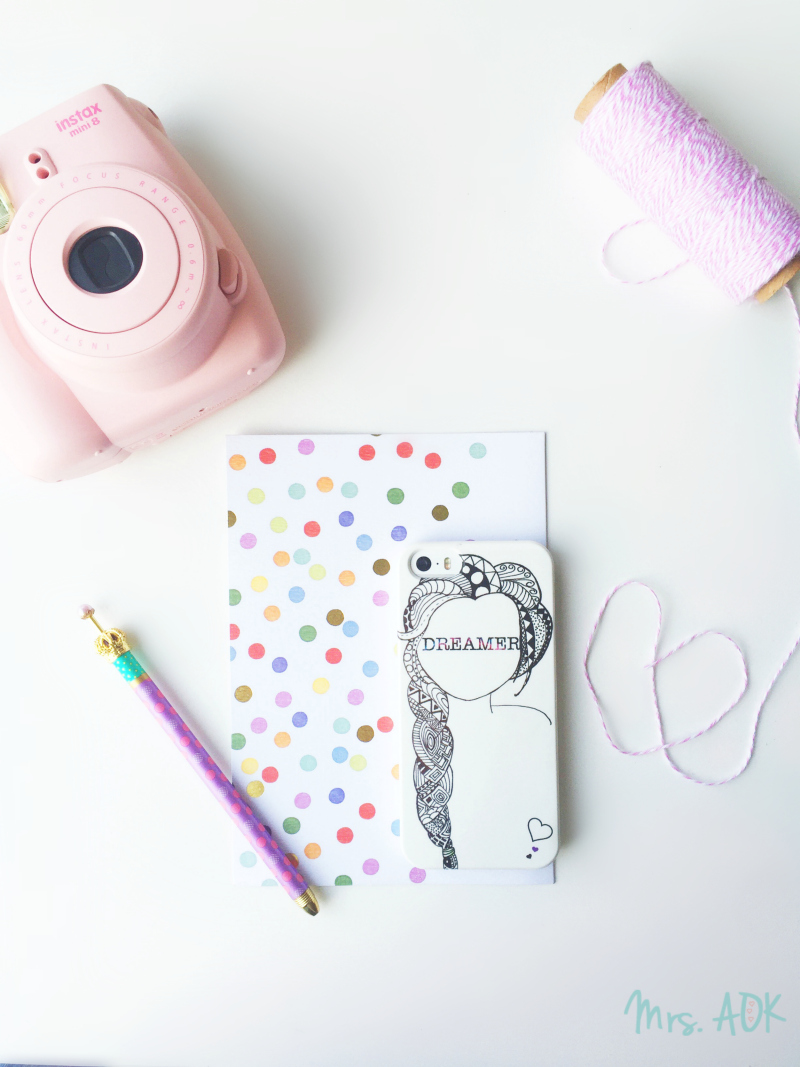 The Case of Loving a Creative| When you love a creative and a creative giveaway with Case App| Mrs. AOK, A Work In Progress