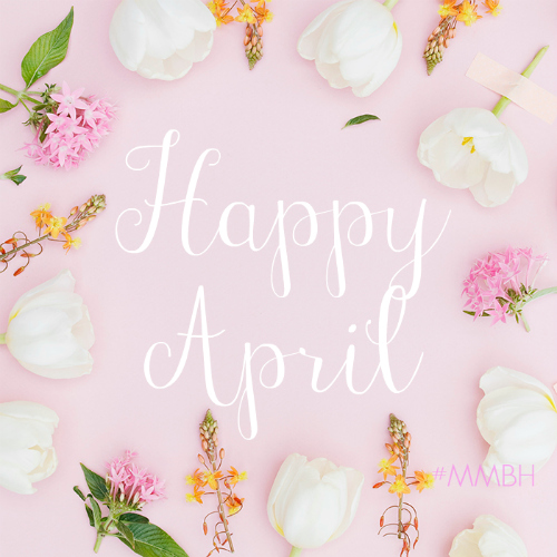 Welcome to the first Mommy Monday Blog Hop of April! :)