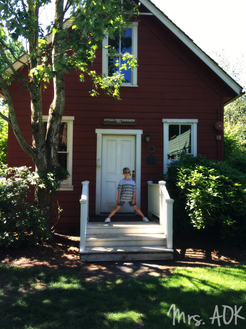 Bothell's first schoolhouse
