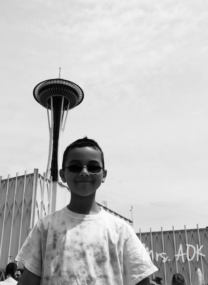 Thank You Notes| Seattle field trip| Mrs. AOK, A Work In Progress