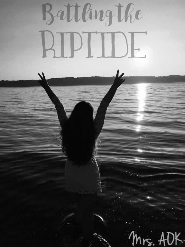 Battling the Riptide: I realize I speak often of life in the form or waves, ripples, and now tides. Perhaps it's my inner mermaid that always yearns for the...