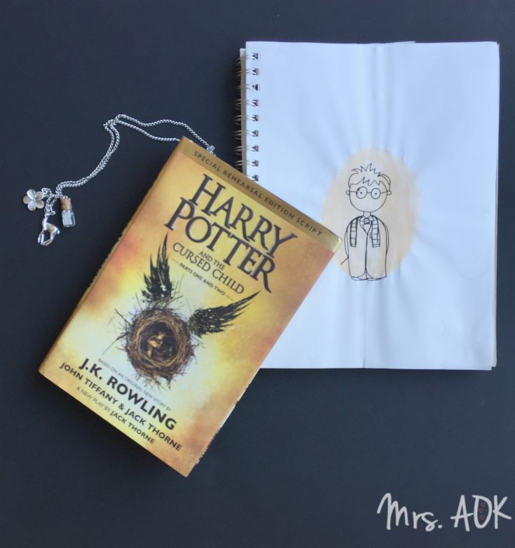 Currently Reading August 2016: Harry Potter and the Cursed Child