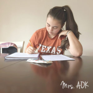 A letter to my teen daughter. {ad}