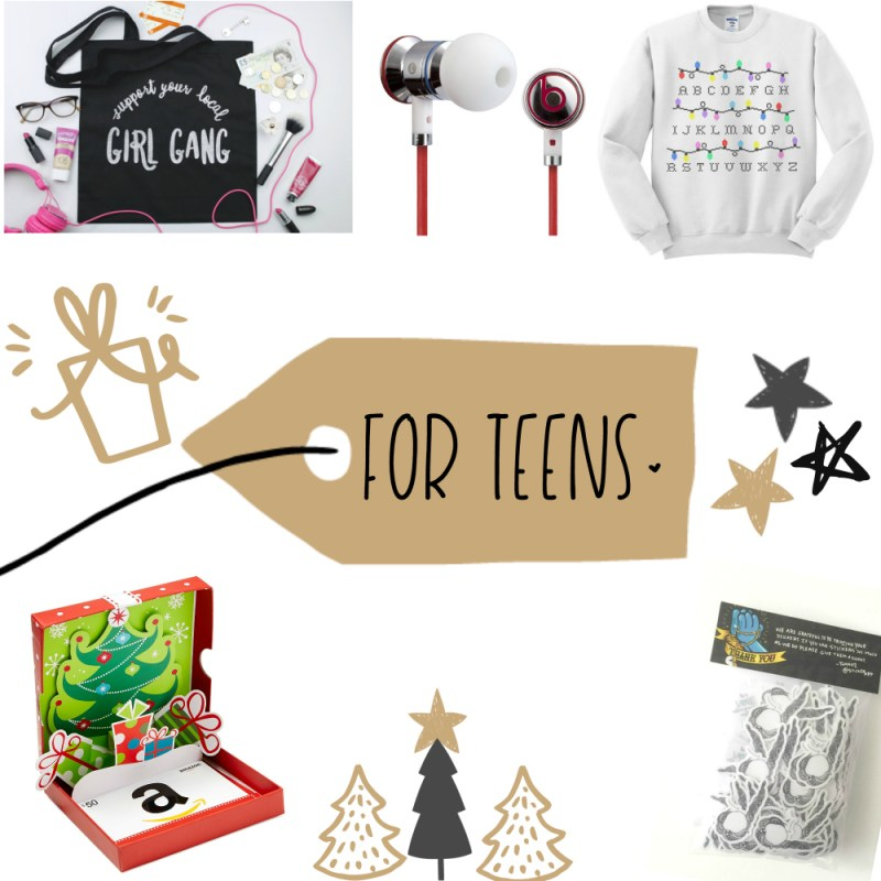 A Gift Guide for EVERYONE!! {For Teens}