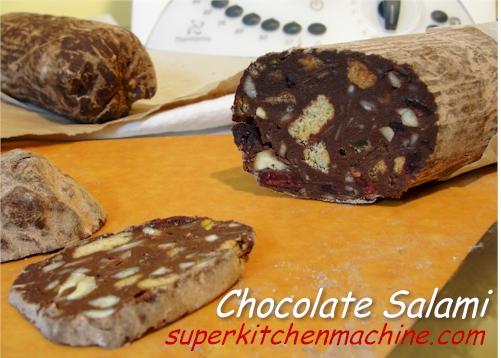 thermomix chocolate salami