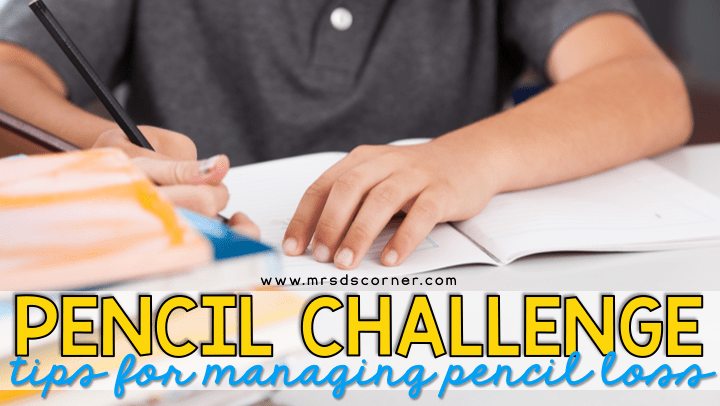 Pencil Challenge | Tips for Managing Pencil Loss
