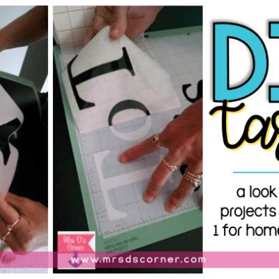 DIY task for home and school blog post header
