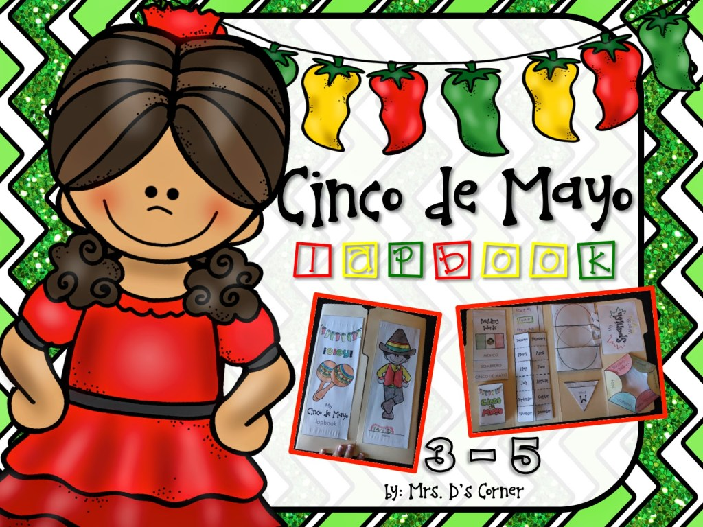 Cinco de Mayo Lapbook | Cinco de Mayo Celebrations