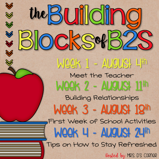 Building Relationships – Building Blocks of Back to School