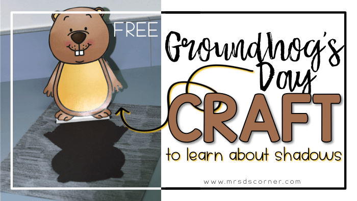 Quick and Easy Groundhog's Day Craft