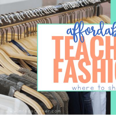 Affordable Teacher Fashion: Where to Shop