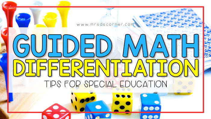 Guided Math: Differentiating Instruction