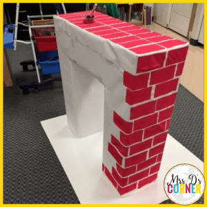 Use a sponge to paint all of the bricks. It'll save a lot of time. No need to paint the back of it.