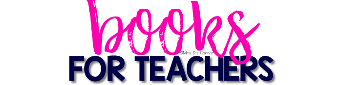 Professional Development books for teachers to read. Helpful books for teachers and parents of students with special needs. Reviews and blog post at Mrs. D's Corner.