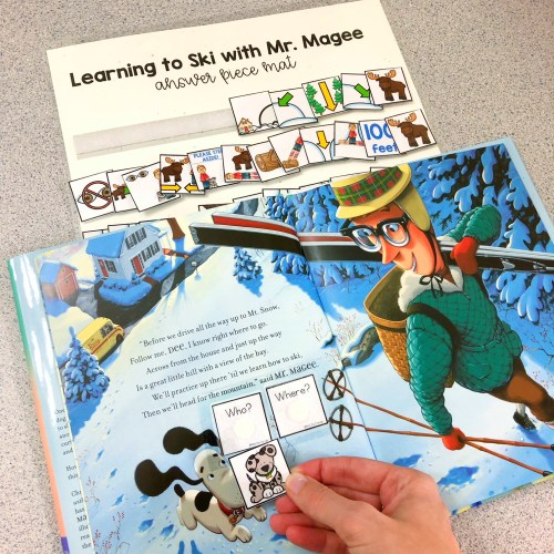 Adapted Piece Book Sets for the special education classroom. Adapted books for winter sports games and olympics. 20 winter sports books for kids. Winter Sports books for kids. Winter Games books for kids. Olympic books for kids.
