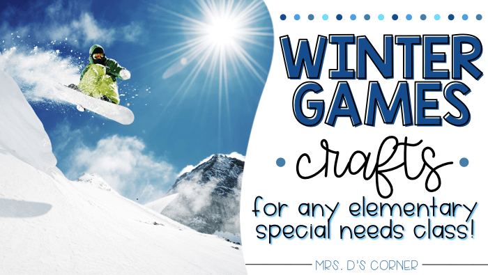 14 Winter Games Crafts for Any Classroom