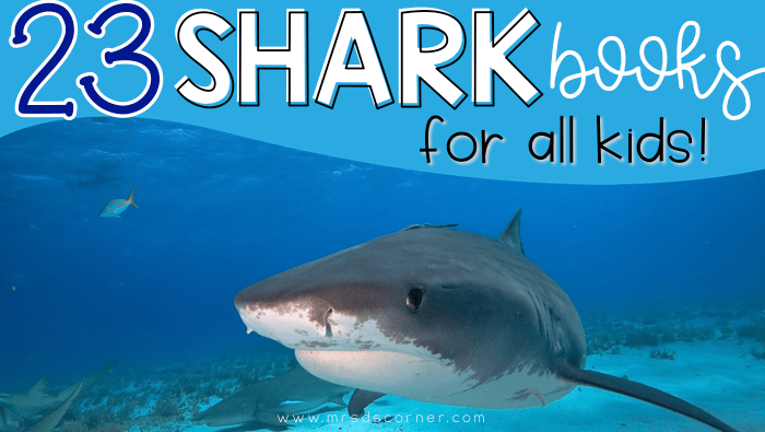 23 Books About Sharks for Kids