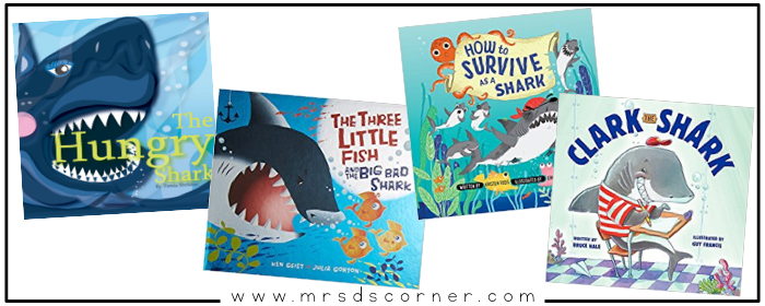 """These books about sharks are informative, somewhat intense, but so important. Sharks are the biggest part of the ocean ecosystem, and sharks need our help. Sharks aren't the """"bad guys"""" you see portrayed in the movie Jaws or the highly comedic Sharknado, and I am on a mission to change how my students view sharks... starting with these books. Blog post at Mrs. D's Corner."""