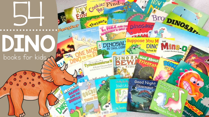 54 Dinosaur Books for Kids