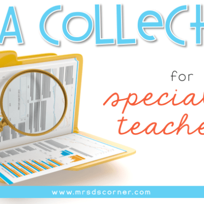 data collection for special ed teachers header