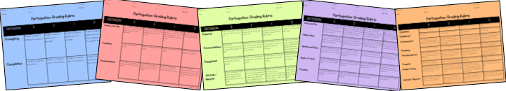Grading Rubrics for special needs students. grading rubrics for students with disabilities. grading in special education.