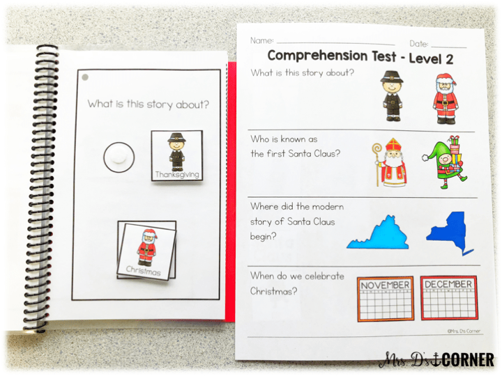 holidays around the world - comprehension questions are interactive in each story and come in printable format too